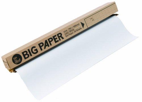 マルアイ 模造紙 白 大判 ドット罫 BIG PAPER 765mm幅 20枚 D-21