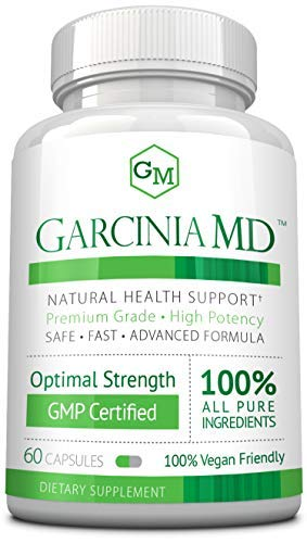 Approved Science® Garcinia MD - Increase Metabolism and Enhance Mood. All Natural & Vegan Friendly. 60 Capsules - 1 Bottle Supply
