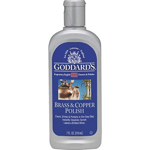 Goddards - Limpiador de latón y Cobre, 207 ml.