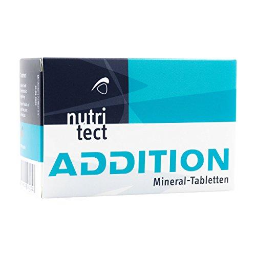 nutritect ADDITION Mineral-Tabletten - Elektrolyte zum Ausgleich deiner Mineralstoffverluste beim Sport   100 Tabletten