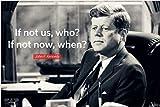 misspfeas Zitat Typografie John F. Kennedy Minimalismus