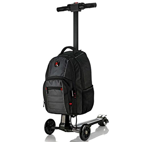 GJX Business Trolley koffer, Oxford doek koffer voor mannen en vrouwen, Scooter elektrische vliegtuigen wiel Boarding Bag Student Bag