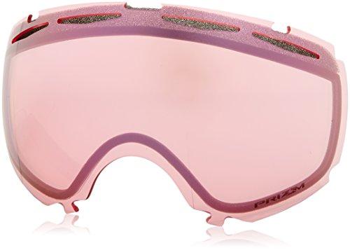 Oakley Canopy Ecran de Remplacement Masque de Ski Mixte Adulte, Prizm Hi Pink Iridium