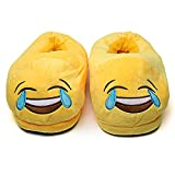 Hausschuhe Slipper Pantoffeln Damenwinter Hausschuhe Männer Schuhe Warm Soft Indoor Hausschuhe Männer Plüsch Schuhe Cute Funny Poop Home Wohnungen rutschfeste Raumrutschen Paar 37 Lachen