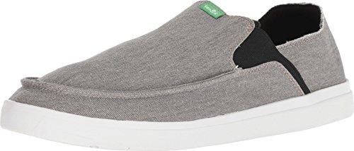 Sanuk Pick Pocket Slip-On Sneaker Grey 10 D (M)