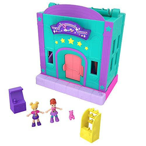Polly Pocket Pollyville GGC41 PARTY Limo aree di gioco Lila doll