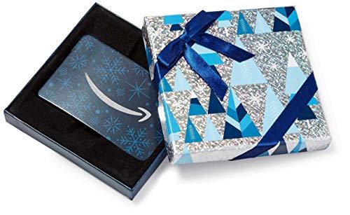 Amazon.de Geschenkgutschein in Geschenkbox (Blau und Silber)