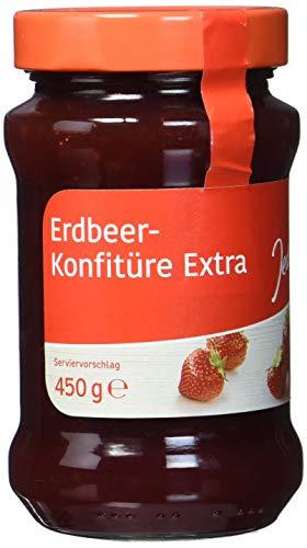 Jeden Tag Konfitüre Extra Erdbeere, 450 g