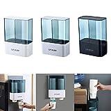 GCAILIAOSHIYOU Porte-gobelet jetable Distributeur de gobelets en Papier à Boire Support Mural de Rangement pour gobelets