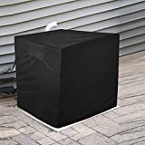 Aozzy Central Air Conditioner Covers for Outside Units Heavy DutyAc Cover for Outdoor Unit Square Winter Withstand The Rain and Snow, Or Nuts Fit Up to 24x24x22 inchs