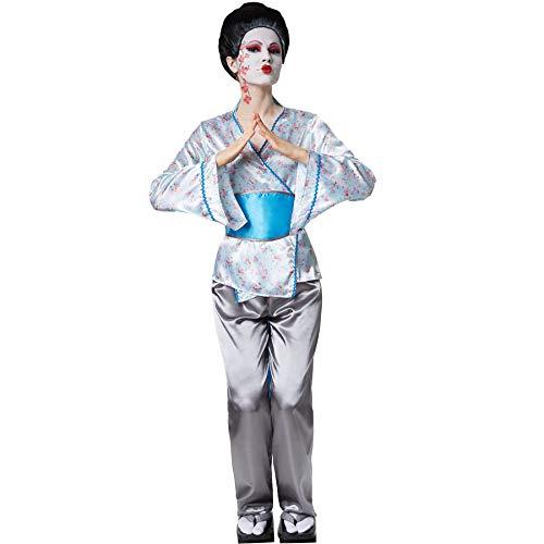 dressforfun 900559 Disfraz de Mujer Encantadora Geisha Aiko, Traje Tradicional de Geisha (XL| No. 302688)