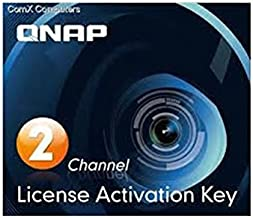 Qnap Camera License Activation Key for Surveillance Station Pro for QNAP NAS (LIC-CAM-NAS-2CH)