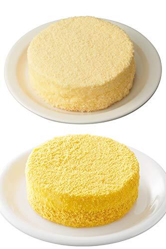 LeTAO ( ルタオ ) チーズケーキ 食べ比べセット ( ドゥーブルフロマージュ 1個(4号 直径12cm)+ ポティロンドゥーブル 〜北海道産栗マロンかぼちゃ〜 1個(4号 直径12cm))