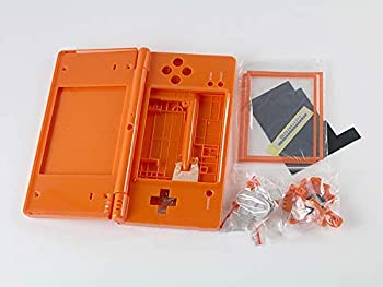 Replacement Full Housing Cover Case Replacement Shell with Buttons Screen Lens for NDSi Nintend DSi Game Console  Orange