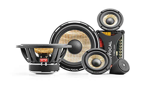 Price comparison product image Focal PS165F3 FLAX 6.5 3-way component kit,  RMS: 80W - MAX: 160W