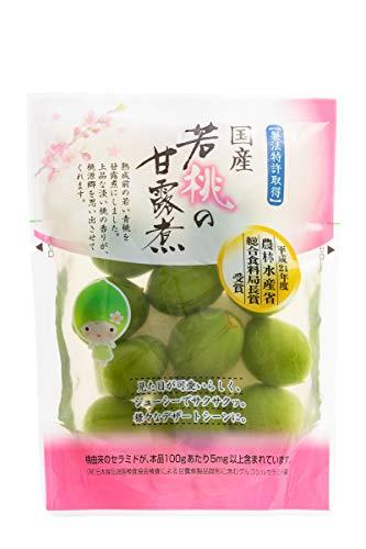 国産若桃の甘露煮 100g