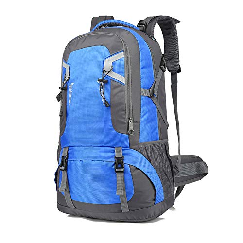 LXXYJ Waterproof Camping Backpacking,Hiking Backpack,Outdoor Trekking Backpack Suitable for Women Men Child Running Cycling Mountaineering Travel,Blue,small