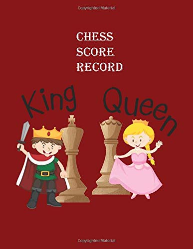 Chess Games Scorebook 100 moves Large Print: Perfect to keep record of individual moves and plays: for professionals, amateurs and all chess enthusiasts