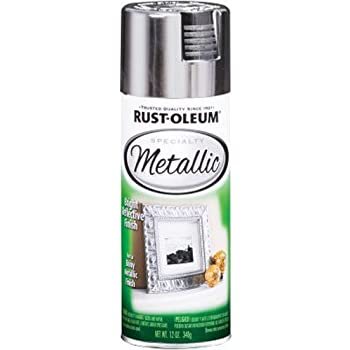 Rust-Oleum 1915830 Spray Paint, Each, Silver