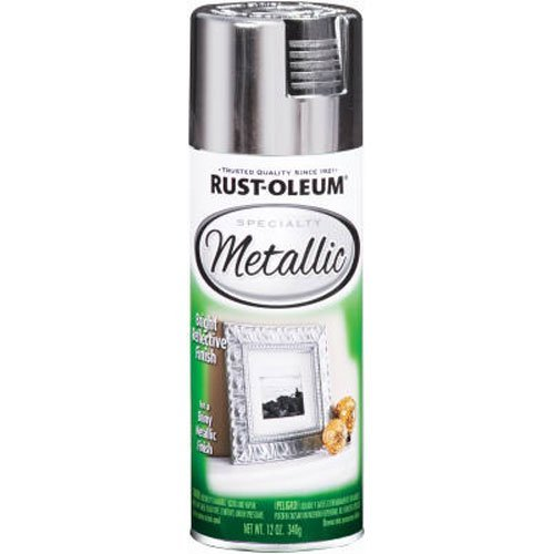Rust-Oleum 1915830 Spray Paint, Each, Silver