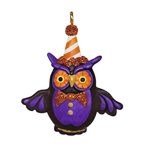 Hallmark Keepsake Halloween Ornament 2020, Mini Lil' Hoot Owl, 1.34'