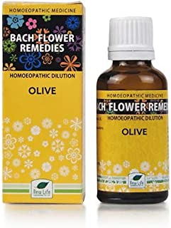 Homeo Homes New Life Bach Flower Olive (30ml)