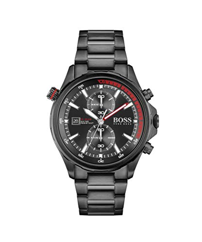 Hugo BOSS Men's Analog Quartz Watch with Stainless Steel Strap 1513825