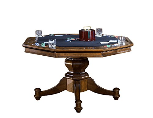 Hillsdale 6060GTB Game Table, Brown