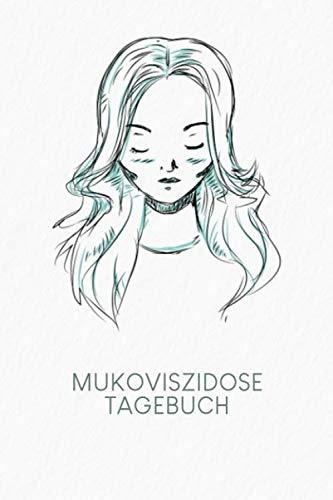 Mukoviszidose Tagebuch: Gepunktetes Notizbuch für Mukoviszidose Patienten   Motiv: Portrait