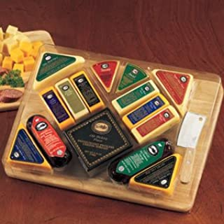 The Ultimate Gourmet Cutting Board Meat and Cheese Gift