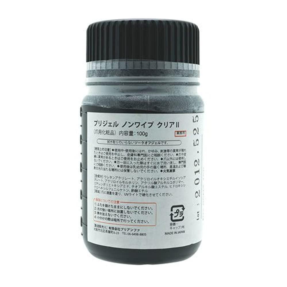 慢性的記述する枯渇プリジェル ノンワイプ クリアII L 100g PG-00N2-100