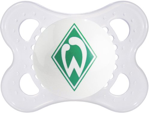 MAM 563910 - Original, Football, Bundesliga: SV Werder Bremen, 0-7 Monate, Silikon
