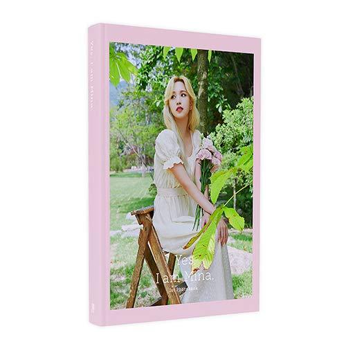 TWICEのミナ 1ST PHOTOBOOK [Yes, I am Mina.] (Pink Ver./フォトブック254P+アコーディオンポストカードセ...