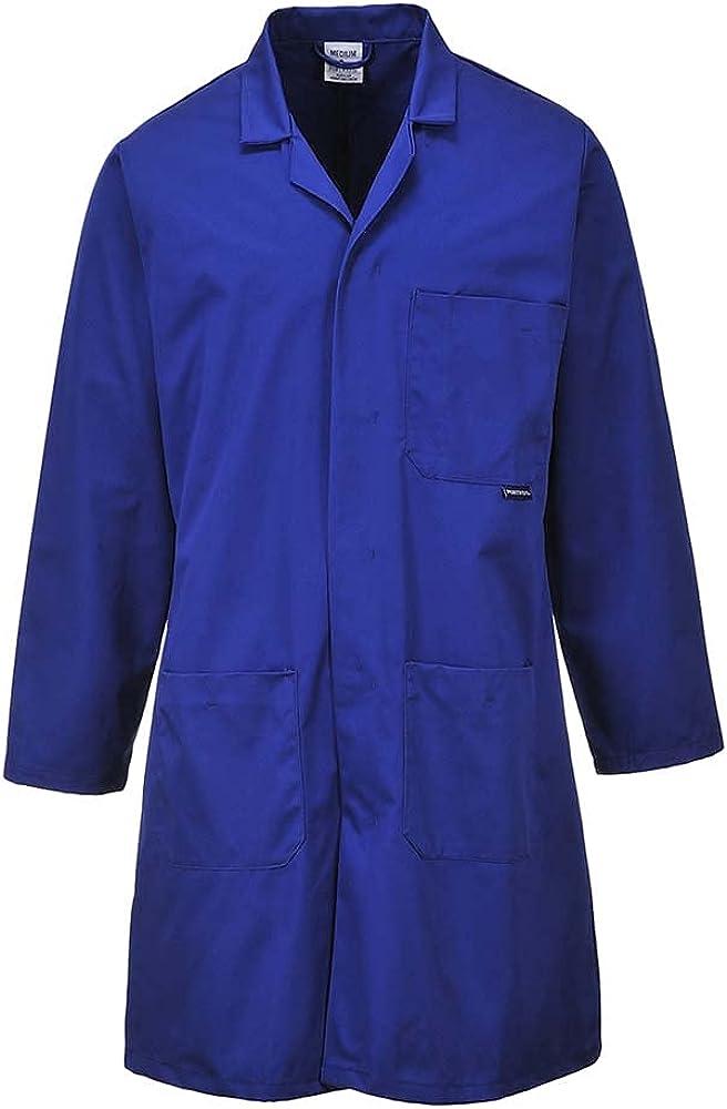 Portwest Workwear Mens Standard Coat Royal Large