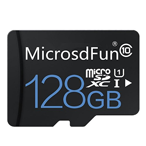Ultra 128GB Micro SDXC UHS-I Card Class 10 with Adapter High Speed Memory Card TF Card (128GB) (128GB)