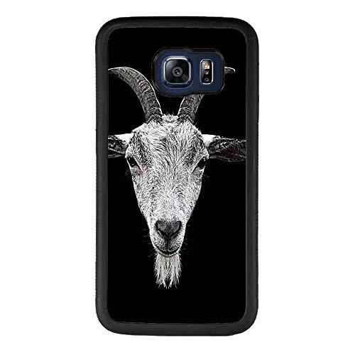 Samsung Galaxy S6 Edge Phone Case (2015) [5.1-Inch] Goat Head