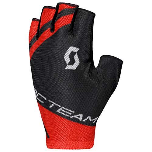 Scott RC Team Fahrrad Handschuhe kurz schwarz/rot 2020: Größe: M (9)
