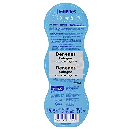 Denenes Baby Cologne 20 oz./600ml