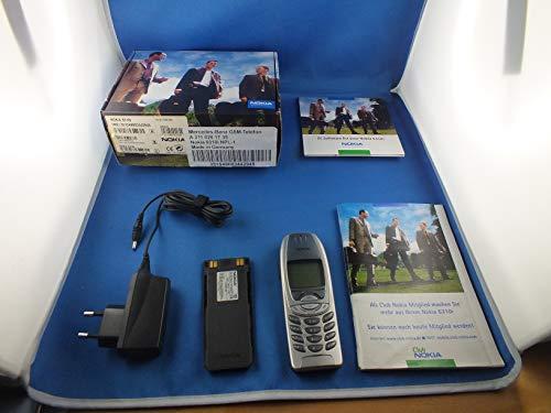 Nokia 6310i Teléfono Móvil Plata Original Mercedes Auto Teléfono Phone DC a21182001535