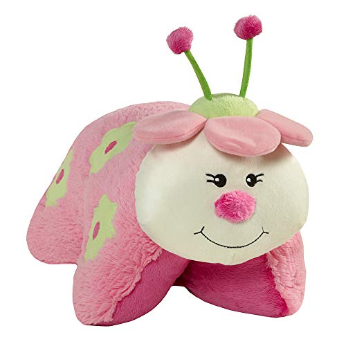 "Pillow Pets Watermelon Ladybug Sweet Scented Pets, 16"", Pink/White"