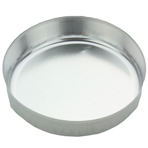 Eagle Thermoplastic Disposable Aluminum Smooth-Wall Weighing Dishes D70S-100,
