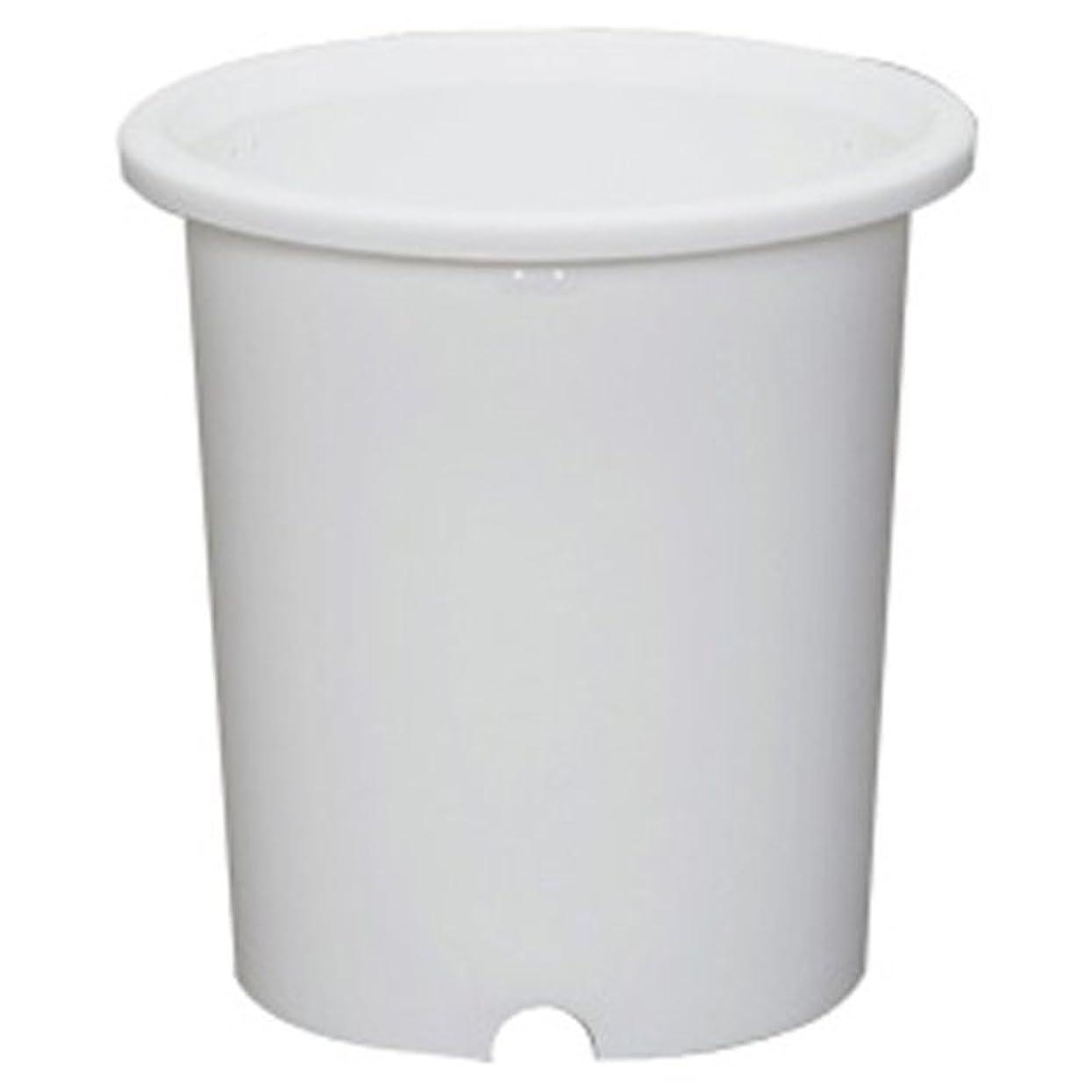 四面体懺悔時々アイリスオーヤマ 鉢 ディーポット 10号 ホワイト