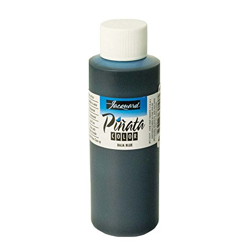Pinata Baja Blue Alcohol Ink That by Jacquard, Professional and Versatile Ink That Produces Color-Saturated and Acid-Free Results, 4 Fluid Ounces, Made in The USA