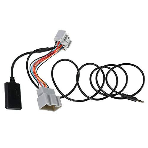 housesweet Adaptador Bluetooth de 14 Pines Cable estéreo de Audio para automóvil AUX para Volvo C30 / S40 / V40 / V50 / S60 / S70 / C70