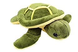 Image: Vintoys Soft Plush Sea Turtle Stuffed Animals Plush 10 inches | Soft and adorable, perfect size for playing