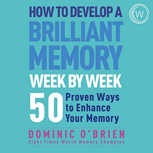 『How to Develop a Brilliant Memory Week by Week』のカバーアート