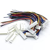 Onkuey 10Pcs 8S JST-XH 9Pin 26AWG Balance Extention Lead Wire for RC Lipo Battery