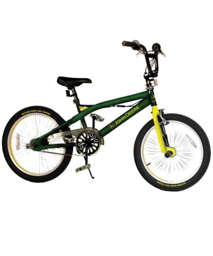 John Deere Bicycle Ride on Toy, Green, 20 Inches