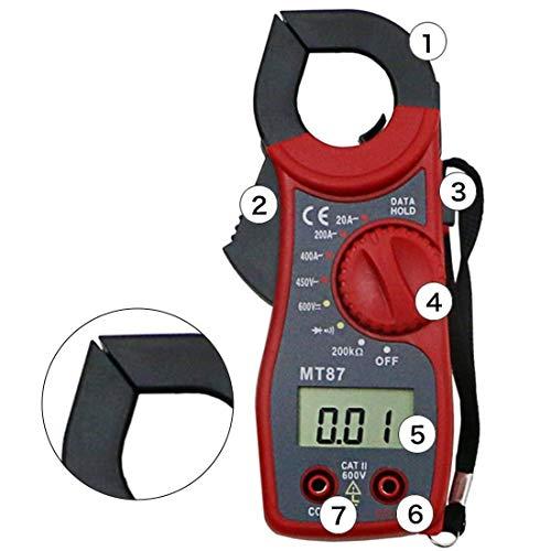 iWDF AC-DC-Amperemeter Voltmeter Multifunktions Diode Fire Wire Tester High Precision Digital-Multimeter Stromzange Stromzange