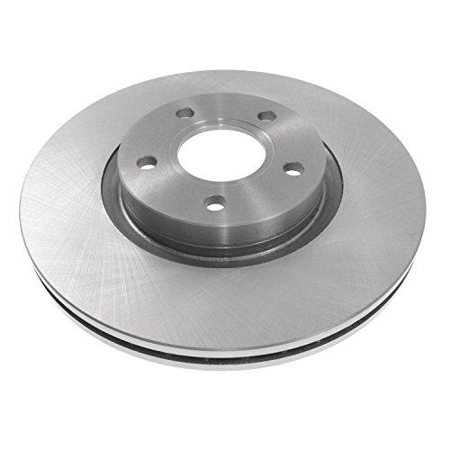 Blue Print ADF124304 Brake Disc Set (2 Brake Disc) front, internally ventilated, No. of Holes 5